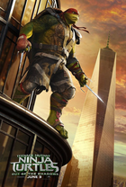 Teenage mutant ninja turtles 2 poster raphael