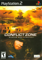 31277 conflict zone playstation 2 front cover