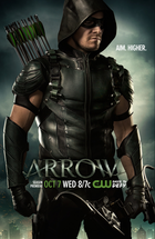 Arrow season 4 poster   aim. higher.