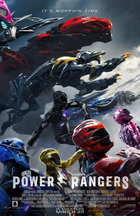 Exclusive final power rangers poster zords