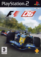 122903 formula one 06 playstation 2 front cover