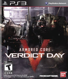 Armored core verdict day