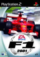 Ea sports f1 2001 ps2 cover