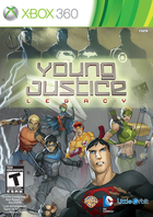 Young justice legacy box art xbox 360 cover