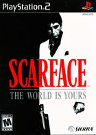 97919 scarface the world is yours playstation 2 front cover