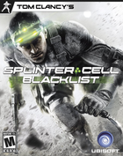 Tom clancy's splinter cell blacklist box art