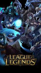 League of legends characters poster 670x1192 xtrafondos.com