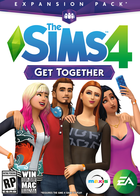 The sims 4 get together cover