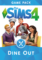 Sims 4 dine out cover