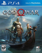 God of war 4 cover