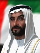 3d portrait   hologram of sheikh zayed bin sultan al nahyan by oleg koreyba