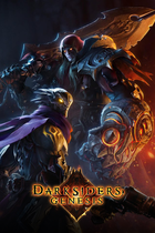 Darksiders genesis   poster marketing illustration   2019