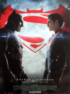 Batman vs superman movie poster def 15x21 in 2016 zack snyder ben affleck