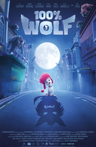 100 wolf poster