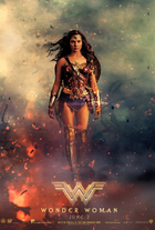 Gal gadot actress wonder woman 2017 film poster 3