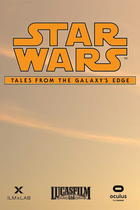Title reveal poster star wars  tales from the galaxys edge