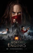Mortal engines teaser poster
