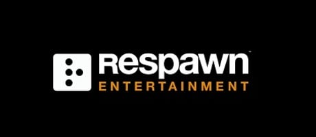 Respawn logo horizontal with orange 460 197