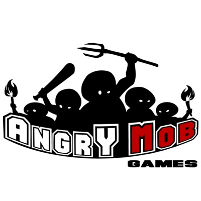 Logo angrymobgames large square