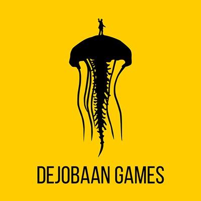 Dejobaan square logo with text