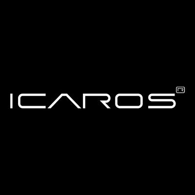 Icaros black logo