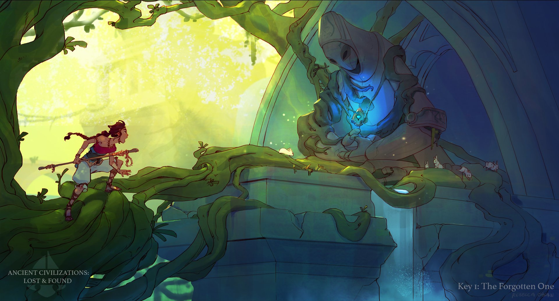 2nd Place, Ancient Civilizations: Lost & Found: Keyframe Concept Art