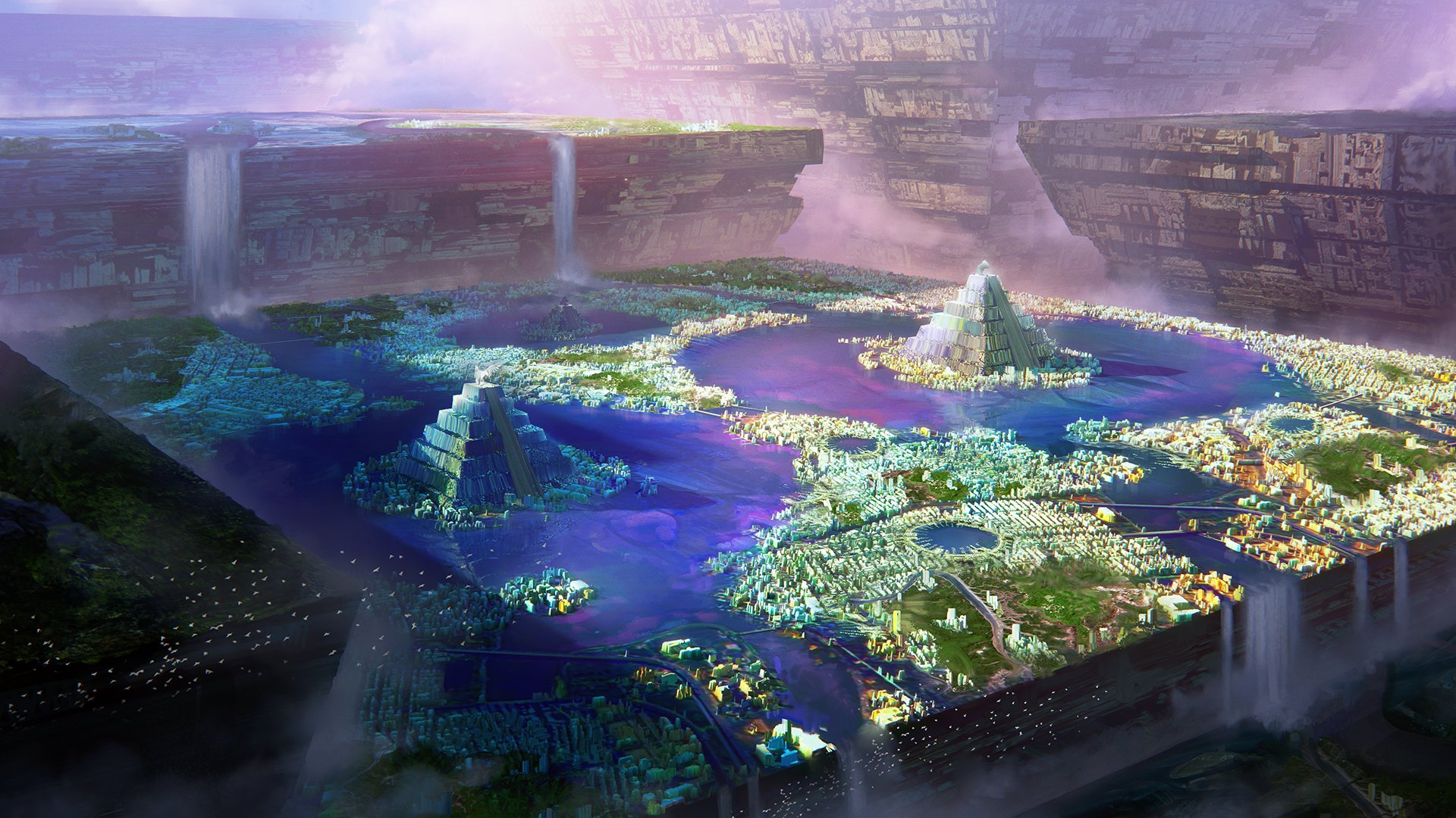 1st Place, Ancient Civilizations: Lost & Found: Environment Design