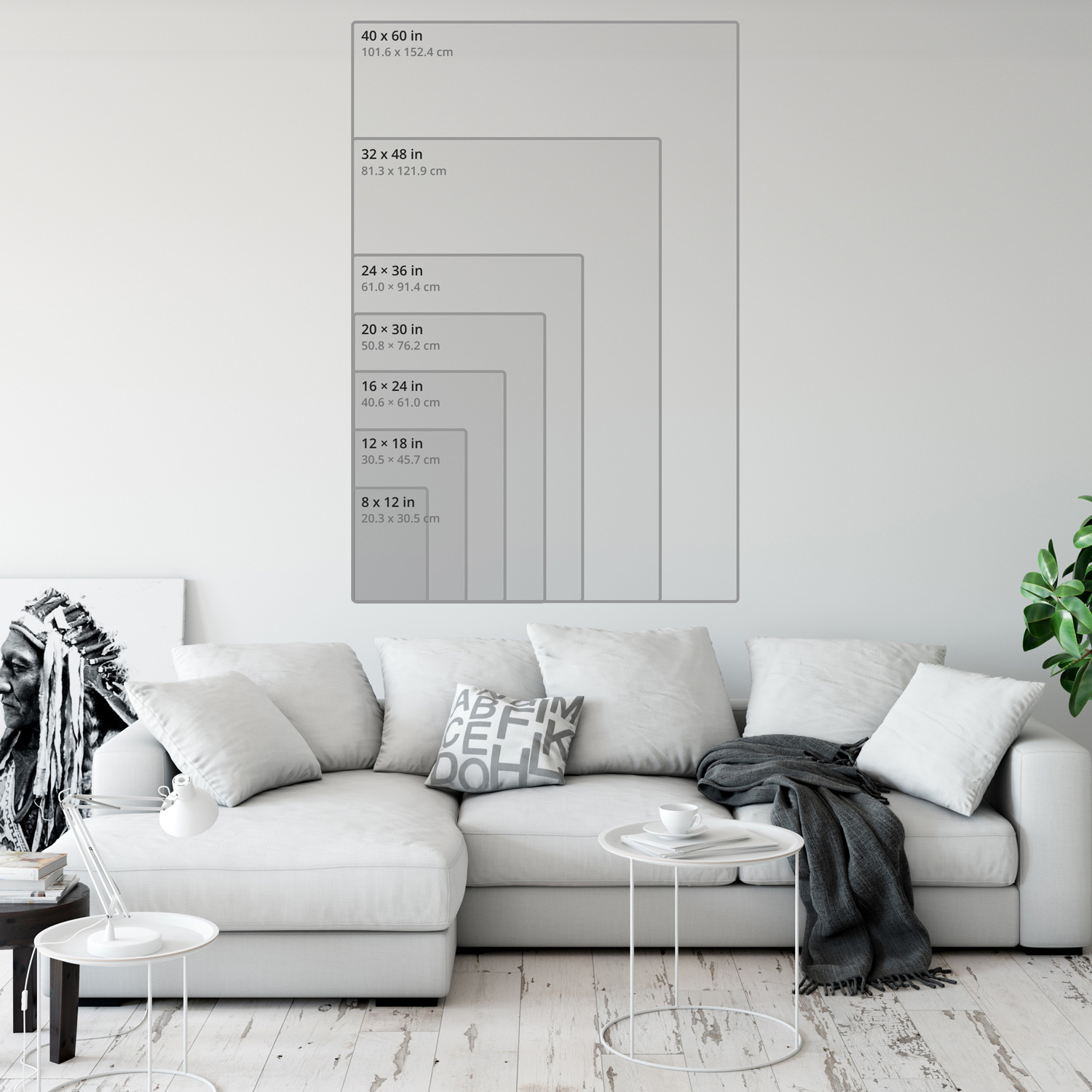 Art print aspect ratio 0.67