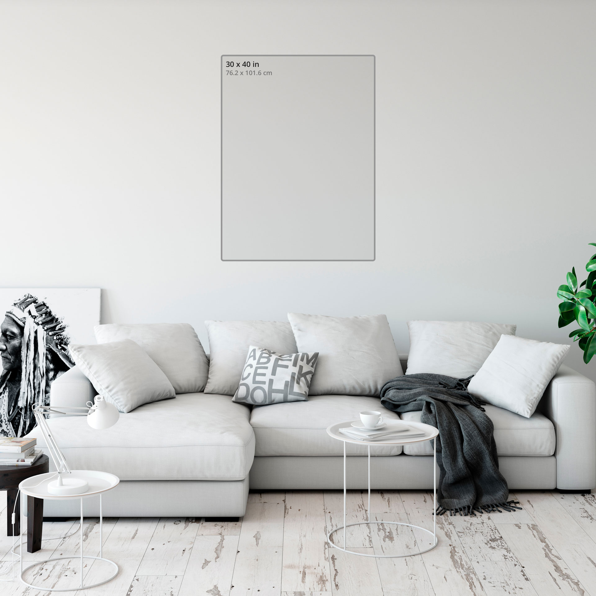 Hd metal print aspect ratio 0.75