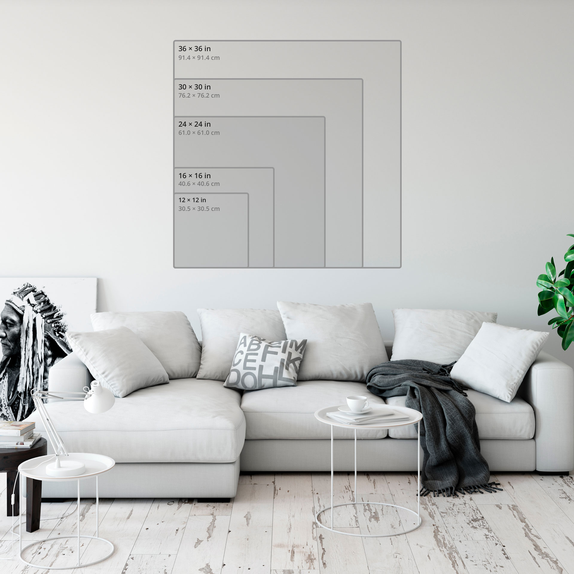 Hd metal print aspect ratio 1.00