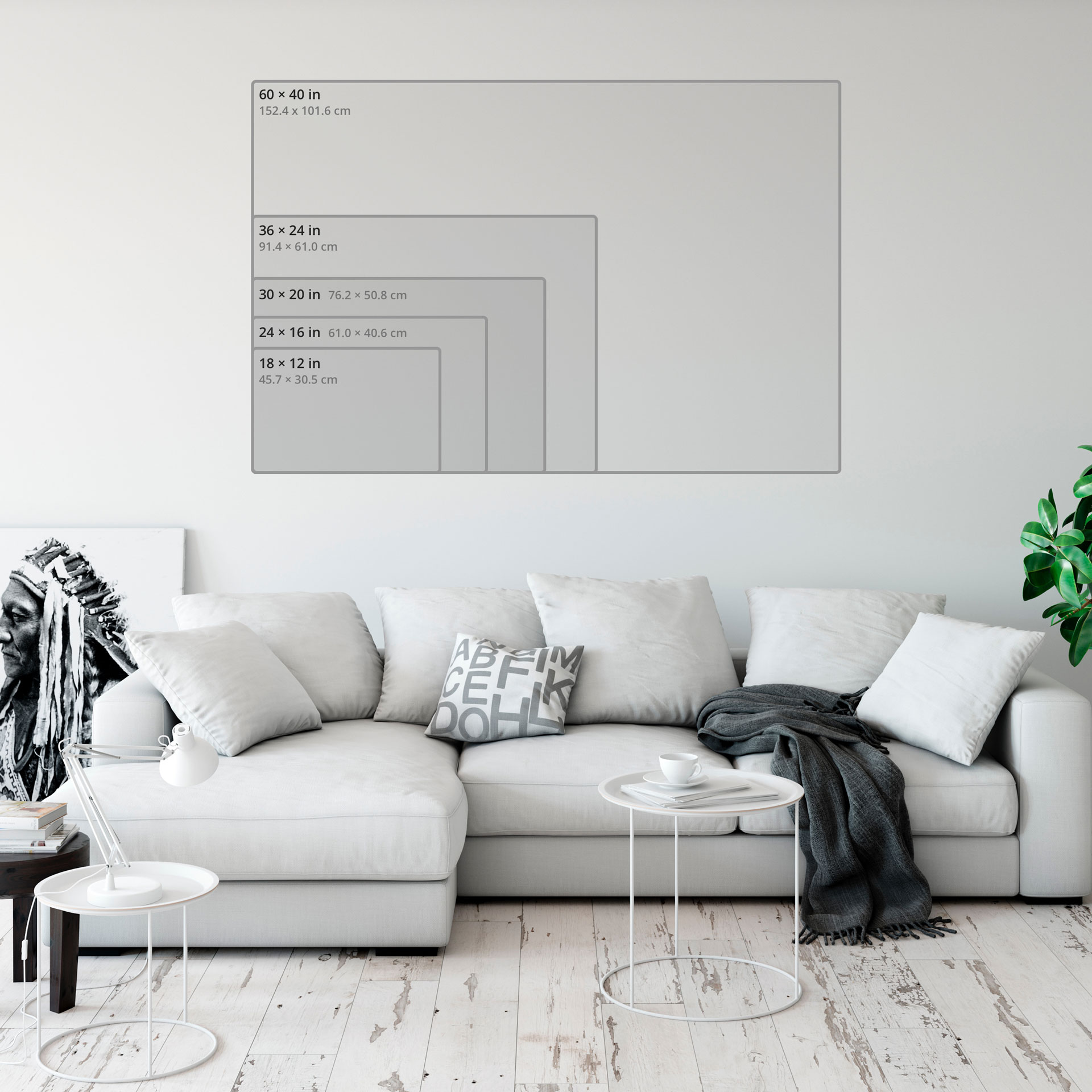 Hd metal print aspect ratio 1.33